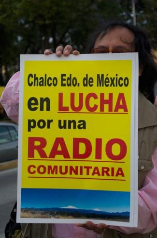Personas de distintas zonas de la ciudad asistieron a la manifestación