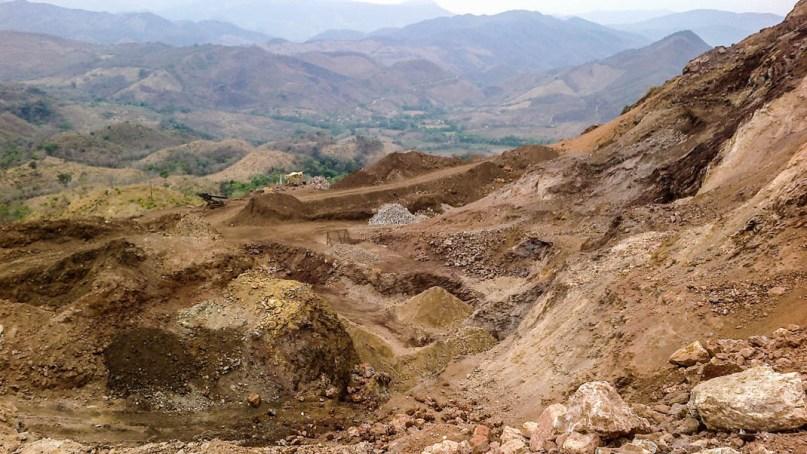 Mina activa sin nobre en Guadalupe del Cobre