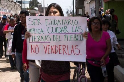 Se pospone asamblea intentona de despojo en Atenco