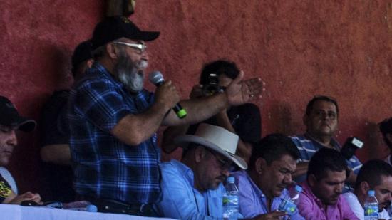 Estanislao Beltrán, conocido como Papá Pitufo. Fotografía: Tejemedios