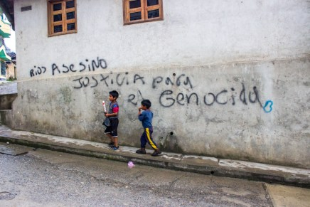 Pueblo ixil de Nebaj ante genocidio impune