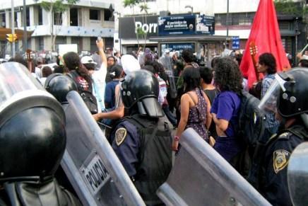 Mario González ante la criminalidad policial