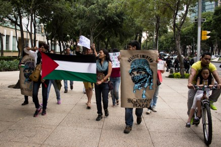 Manifestaciones en México y el mundo en apoyo a Palestina