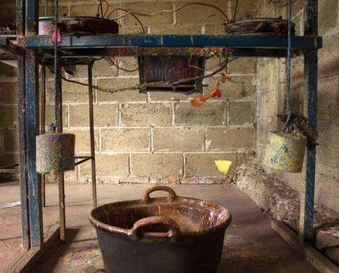 Manufactura de obleas Velázquez, Amilcingo. Tecnología básica se complementa para realizar las obleas.