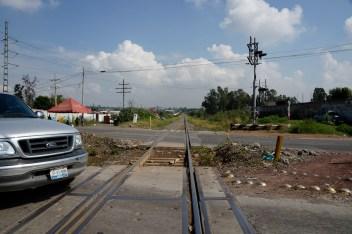 Vías del Ferrocarril (La Bestia).