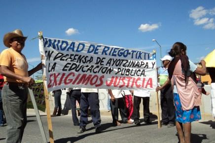 Masacre de estudiantes en Iguala: las manos de Aguirre están teñidas de sangre