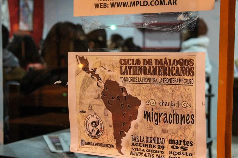 Fotografía: Asamblea de mexicanxs residentes en Argentina