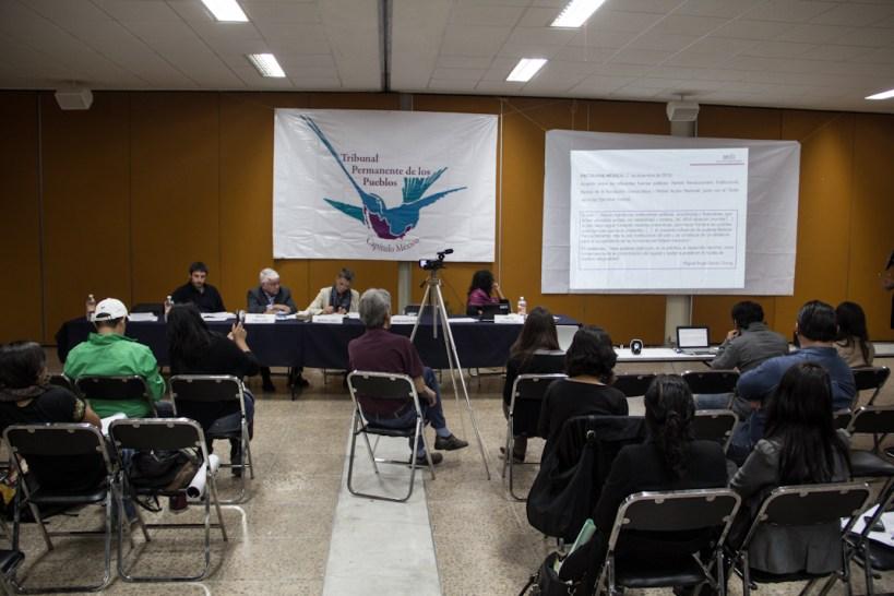 Los trabajos de esta audiencia duraron dos días completos, además de la lectura del dictamen final el tercer día. Fotografía: Heriberto Paredes.