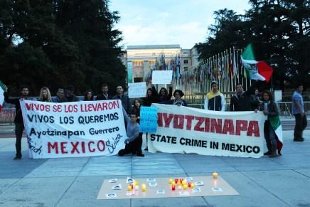 #JusticiaParaAyotzinapa: Jornada de solidaridad internacional