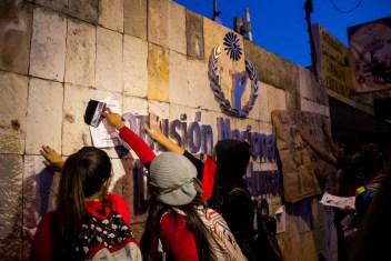 Marcha por desaparecidos de Ayotzinapa en Morelia - Alejandro Amado (21)
