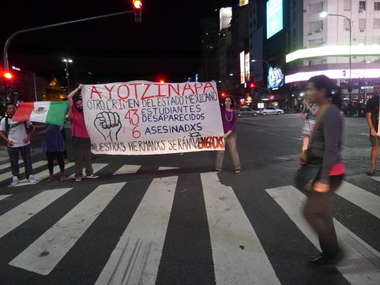 Fotografía: Asamblea de Mexicanxs en Argentina