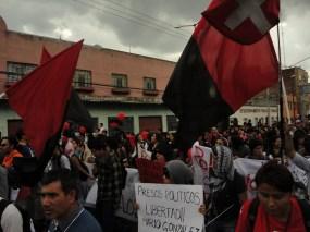 Movimiento obrero exige justicia para los presos políticos.