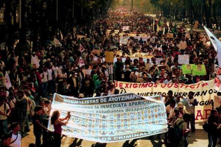 Mexico supports the struggle for the missing students from Ayotzinapa