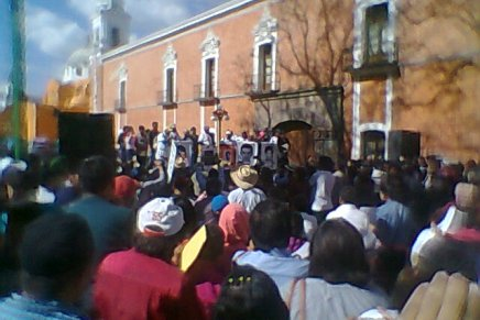 La Caravana Informativa «Daniel Solís Gallardo» transita por Tlaxcala