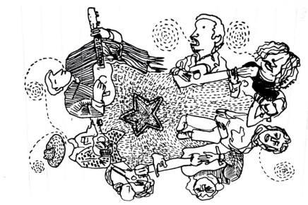 Compartición en Amilcingo: pequeños sembradíos de la palabra