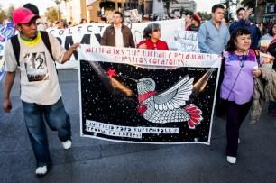 «Justicia para Kuykendall y Teodulfo Torres» Fotografía: Colectivo1DMX