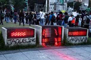 Las calles exigen la libertad de Jaqueline Santana. Fotografía: Colectivo1DMX