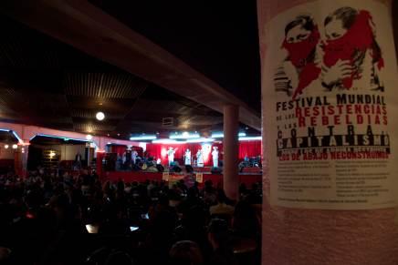 Rumbo al Primer Festival Mundial de las Resistencias y las Rebeldías