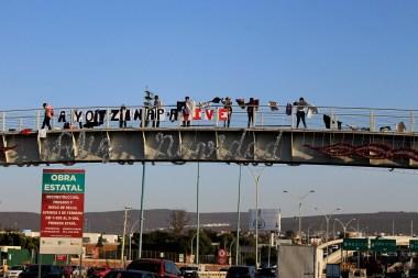 Puente Av. 5 de Febrero. Fotografía: Itzayana Licea
