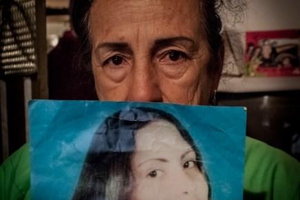 Colombia: El dolor acabará hasta que me entierren junto a ella