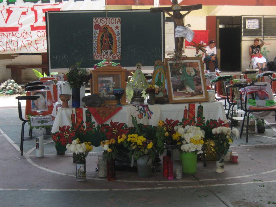Ayotzinapa - cancha-