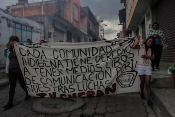 «Cada comunidad indígena tiene derecho a tener medios libres de comunicación» (TV Cherán).