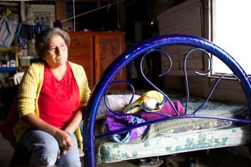 Esposa de preso político en Holbox