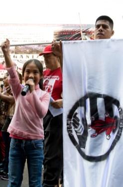 peticioìn de justicia en la marcha del 4 de marzo