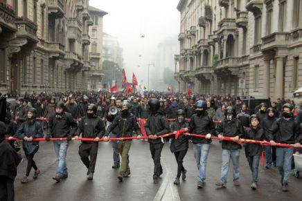 1º mayo en Milán: un día más de lucha