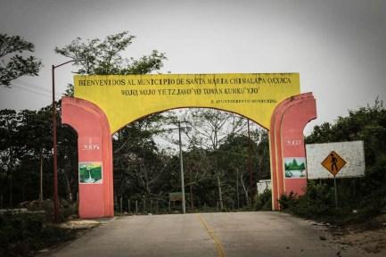 Arco de Bienvenida, Santa María Chimalapa. Fotografía: Valentina Valle