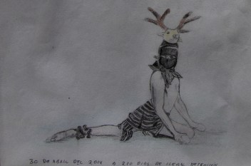 Otro de sus dibujos