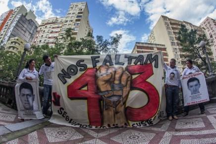 De falsas democracias y dictaduras del terror: Caravana 43 en Porto Alegre