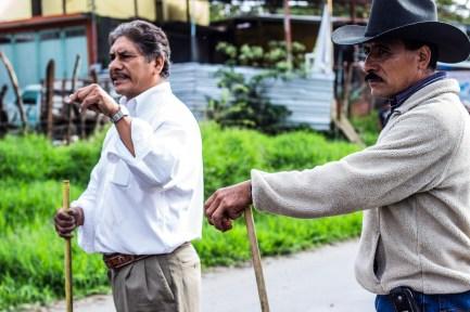 Integrantes de los grupos partidistas. Fotografía: MALDEOJOfoto - Colectivo de Fotografía y Contrainformación