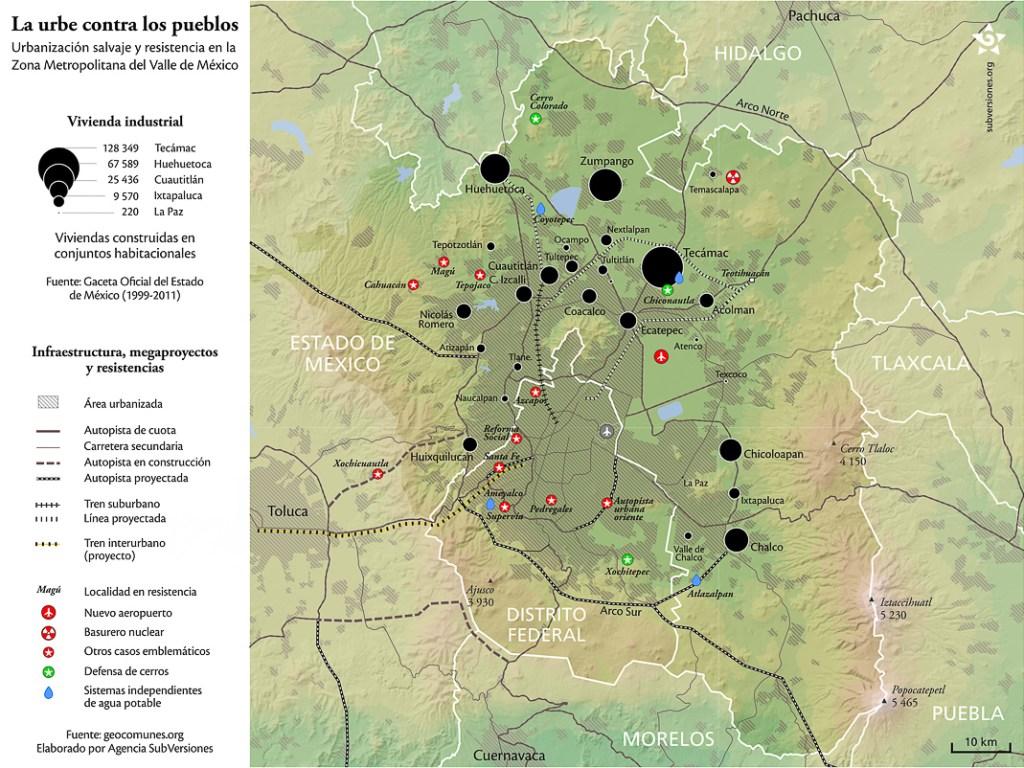 Megaproyectos y resistencias