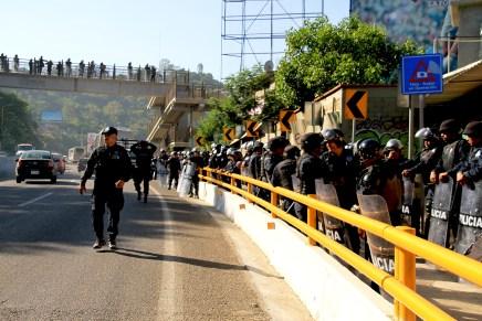 Militarizan Oaxaca con fondos de Iniciativa Mérida para imponer modelo educativo
