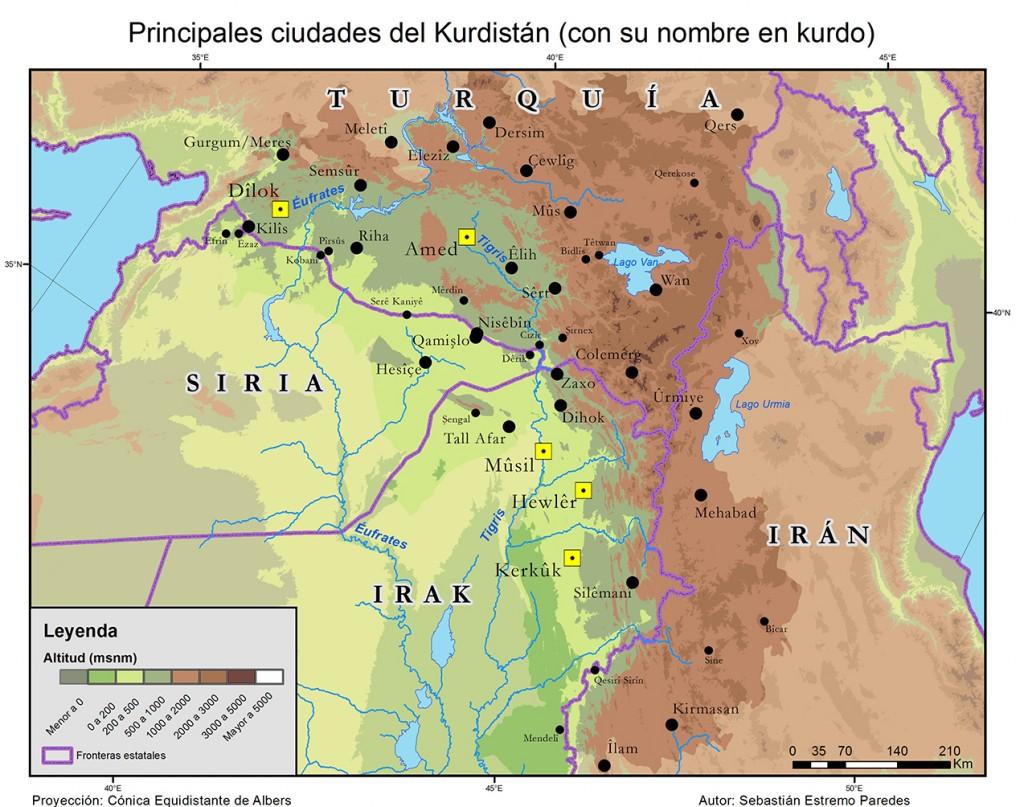 Nombres kurdos