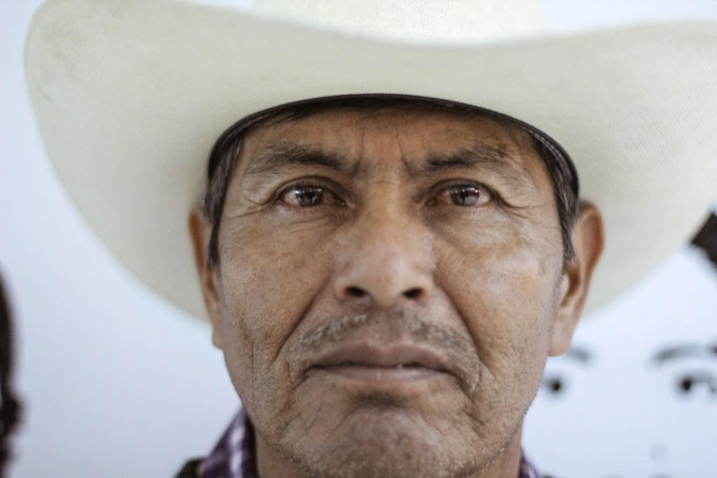 Don Bernardo Campos, padre de José Ángel Campos. Fotografía: Heriberto Paredes