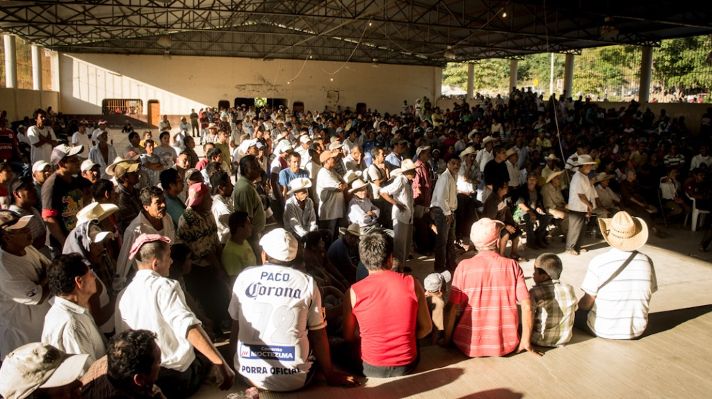 Pueblos nahuas de Michoacán. Fotografía: Heriberto Paredes