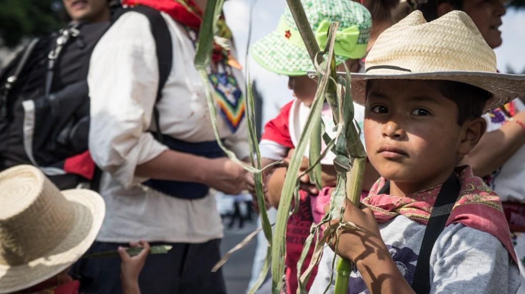 Pueblo otomí de San Francisco Xochicuautla, Estado de México. Fotografía: Heriberto Paredes