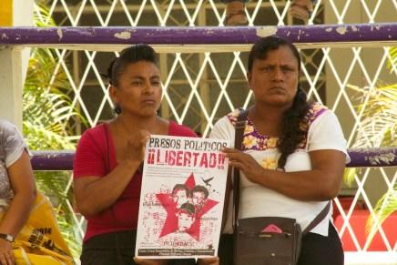 Jornada solidaria por los presos políticos de UCIDEBACC