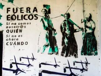 Mural en Juchitán, marzo 2013. Fotografía: Valentina Valle
