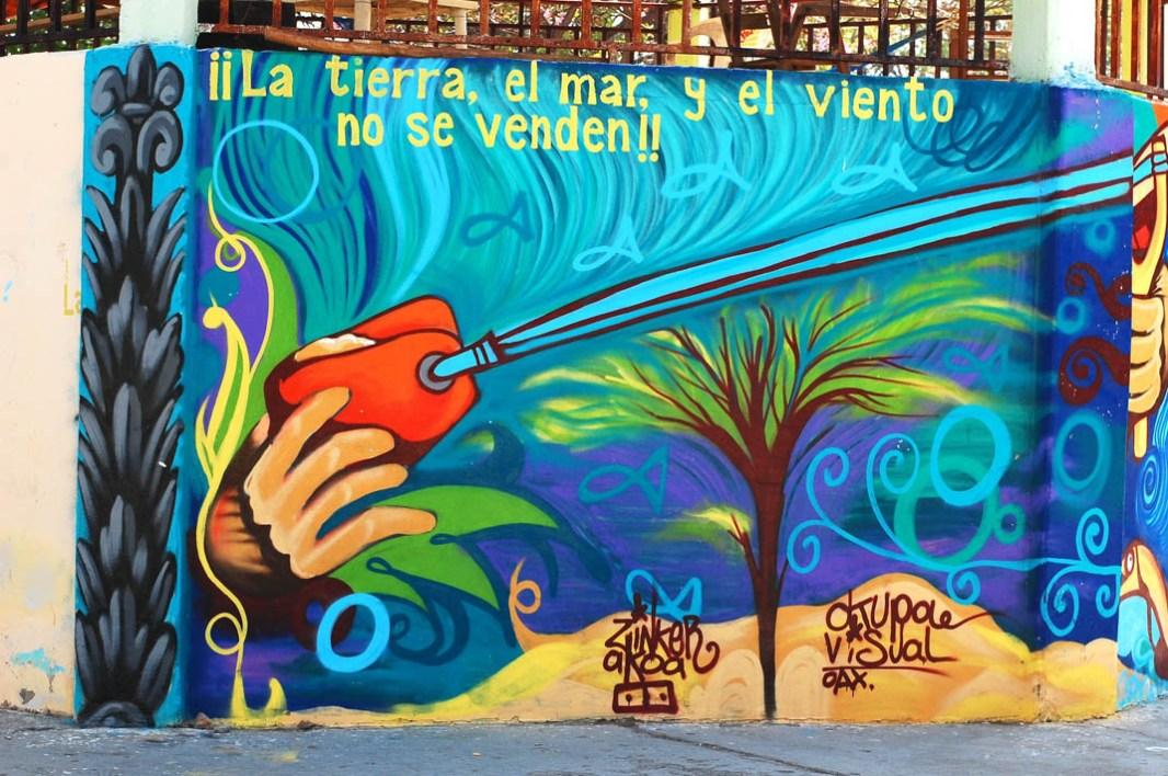 Mural en Álvaro Obregón, abril 2014. Fotografía: La Pirata