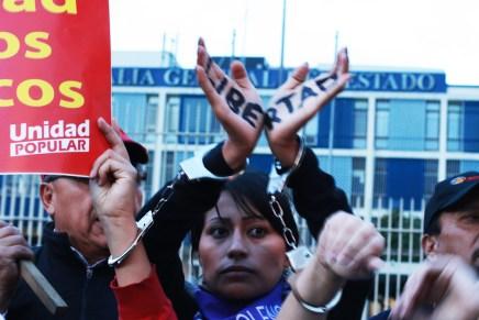 «Mientras nuestros hermanos estén presos no se va acabar el levantamiento»: Kati Bethancourt Ochoa, dirigente de la Conaie