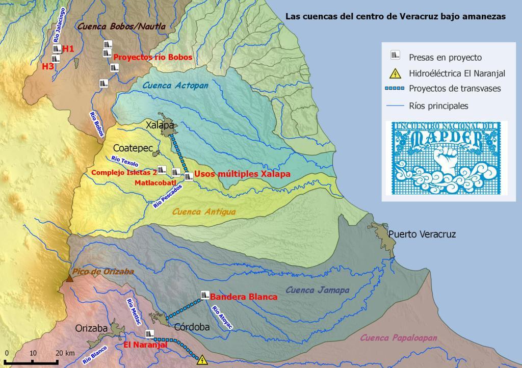 Las cuencas del centro de Veracruz bajo amenaza