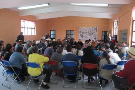 Foro regional en defensa de la gestión comunitaria del agua y contra su privatización