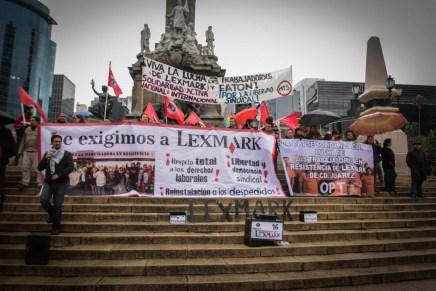 Rebelión en la industria maquiladora: Lexmark al banquillo de acusados