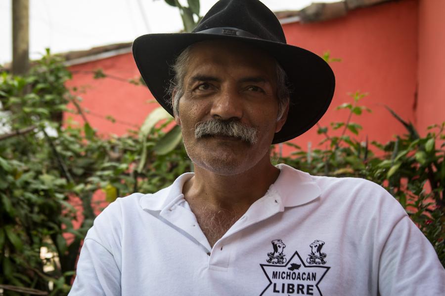 José Manuel Mireles Valverde, preso desde el 27 de junio de 2014. Fotografía: Heriberto Paredes