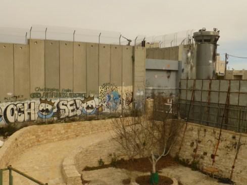 El muro cerca de Belén. Fotografía: Susana Norman