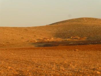 Un pueblo modelo beduino, construido por el ejército israelí para ensayar ataques. Fotografía: Susana Norman