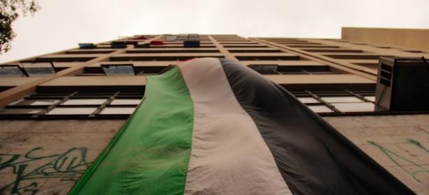 El edificio ocupado Leila Khaled. Foto: Alexandre Macial